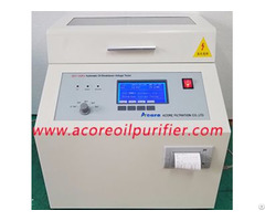 Insulating Oil Breakdown Voltage Testing Unit