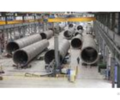 Saw Welding Manipulator Turntable And Roller Beds For Wind Tower