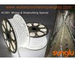 Ac 36v Waterproof Led Rope Lights For Mining Shipbuilding Light System