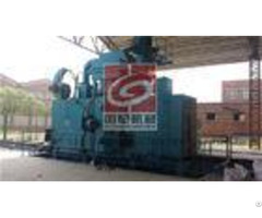 Steel Fabrication Shot Blasting Machine Surface Cleaning Of H Beam