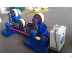 5t 60t Pipe Welding Self Aligning Rotator With Rubber Rollers Tank Turning Rolls