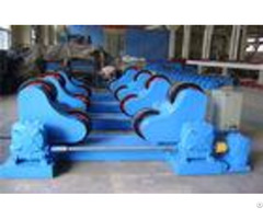 5t Self Centering Tank Rotators With Servo Drive Rubber Roller