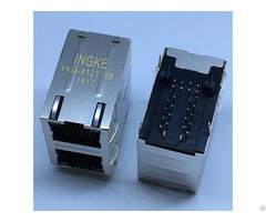 Ingke Ykg 812119b 100% Cross 7499151120 We 2 Port Through Magjack Rj45
