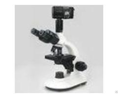 Trinocular Head Electric Binocular Microscope Optical Glass Lens 100x Objective