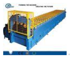 Automatic Metal Zinc Roof Panel Roll Forming Machine 0 3 0 7mm Thickness