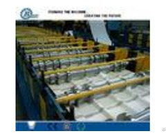 Customized Roll Forming Line For Steel Roof Panel 8 25 Min 18 Stations