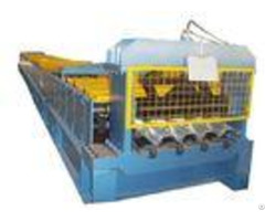 Industrial Steel Floor Decking Sheet Metal Roll Forming Machines With Ce