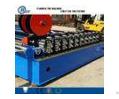 Glazed Tile Stud And Track Roll Forming Machine With Plc Control System