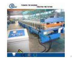 High Speed Steelstructurecladding Wall And Roof Metal Tile Roll Forming Machine