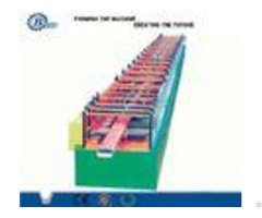 Hydraulic Station Power 4kw Downpipe Roll Forming Machine 550mpa 345mpa 235mpa