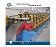 High Speed Road 2 3 Waves Guardrail Roll Forming Machine With Roof Panel