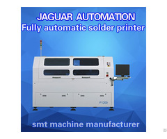 High Accuracy Smt Full Auto Screen Printing Machine For Led Assembly