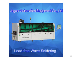 Top Quality 3 Zones Dual Wave Soldering Machine For Pcb Assembly Line