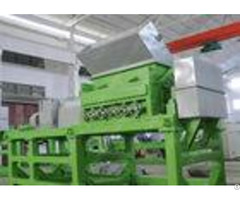 Double Shaft Waste Tyre Recycling Machine Used Tire Shredder Equipment With Skf Bearing