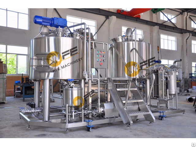 Turnkey Sus 30 Micro Making Machine 500l Beer Brewing Equipment List