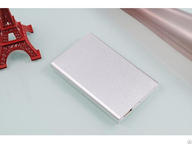 Ultra Thin 4000mah External Battery Universal Charger Power Bank For Smart Phone