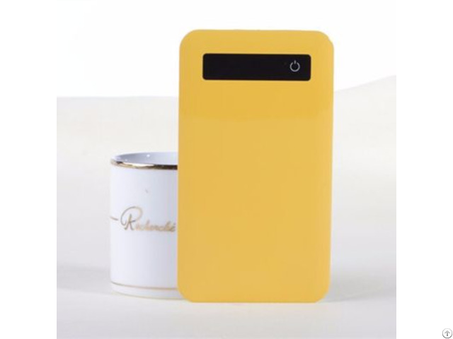 China Wholesale Ultra Thin Touch Screen 5000mah Power Bank With Customized Logo