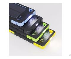 Sp8 High Capacity 8000mah Solar Power Bank Waterproof