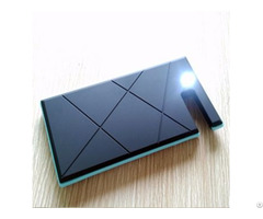 Sp12 Waterproof 12000mah Usb Panel Power Bank