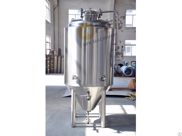 Nano Double Cooling Jacket Conical 4bbl Stainless Steel Fermentation Tanks