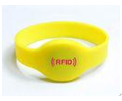 High Quality Oval Shape Silicone Rfid Wristband