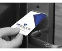 Hotel Door Iso 15693 Rfid Card Matte Finishing With Chip 85 5 54mm