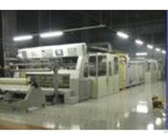Energy Saving Stenter Textile Machine2 10 Chambers 0 5mpa Air Pressure