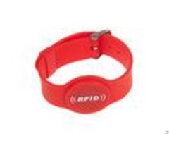 High Quality Waterproof 13 56mhz Nfc Bracelet Silicone Rfid Wristband