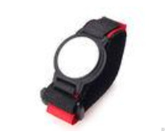 Adjustable 125khz Passive Rfid Wristband Reused Em4305 With Nylon Belt
