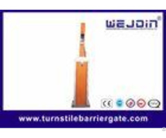 Wire Control Automatic Car Park Barrier Stainless Steel With Folding Boom