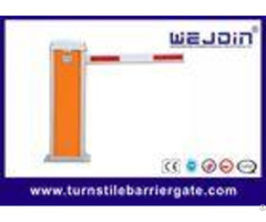 Orange Color Electronic Barrier Gate With Aluminum Cabinet And Speed 3s 6s