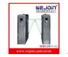 110v 220v Stainless Steel Flap Barrier Gate With Anti Tailing Function For Metro Stations