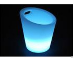 Safe Water Resistant Led Ice Bucket Seamless And Beautiful Energy Saving