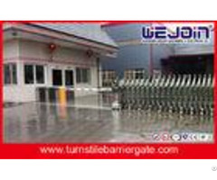 Passage Controlled Access Turnstiles Swing Barrier Gate In Stainless Steel