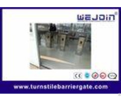 Professional Metro Subway Turnstile Barrier Gate With 304 Stainless Steel Housing