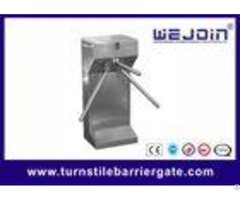 Low Noise Pedestrian Access Control Tripod Turnstile Gate Ac 110v 220v