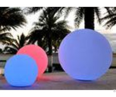 Swimming Pool Beach Outdoor Light Up Balls Led Ball Lights Anti Aging Shell