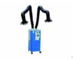 Self Cleaning Mobile Fume Extractor With 2 Pcs 3m Arms Plc Smart Control