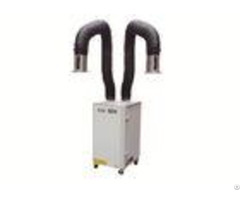 Easy Operation Industrial Fume Extractor Double Arms Excellent Filter