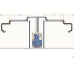 Reliable Mobile Fume Extractor 2600m H Air Flow High Efficiency Filtering
