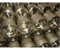 Custom Forged Stainless Steel Pipe Fittings Reducer Cap Ends Nipple Coupling Union