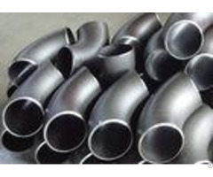 A420 Wpl6 Alloy Steel Pipe Fittings 90 Degree Elbow 40s Wall Thickness Cracking Resistance