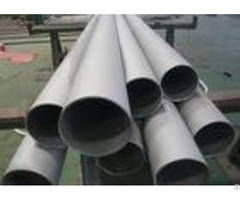 Chemical Industry Line Stainless Steel Round Tube Astm A213 Corrosion Resistance