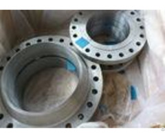 Long Weld Neck Stainless Steel Pipe Flange Plate Class 150lbs 3000lbs Rate