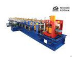 C U Z Purlin Roll Forming Machine Plc Control For Steel Structure