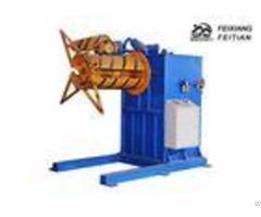 Fx E Roll Forming Equipment Single Head Sheet Metal Decoiler Machine Electric Uncoiler