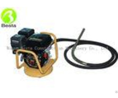 Gasoline Motor Concrete Vibrating Poker 5 5hp Power Output 3600rpm Speed