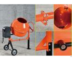 Mini Electric Concrete Mixer 120 Liters Capacity 370w Motor Power 115v 60hz