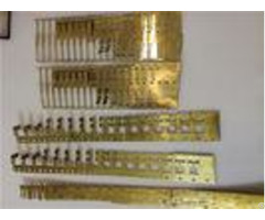 Brass Alloy Moving Contact Sheet Metal Stamping Dies0 02 Tolerance High Precision