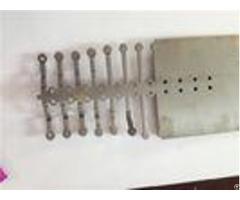 Stainless Steel Sheet Metal Bending Dies One Row Cavity Machine Fittings